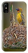 Weaver Nest IPhone Case