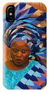 African Woman 5 IPhone Case