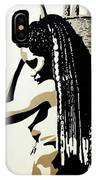 African Woman With Basket IPhone Case