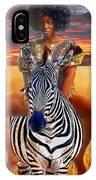 Afrikkan Princess  IPhone Case