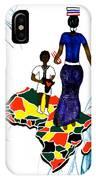 Afrique Walk IPhone Case