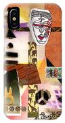 Afro Collage - E IPhone Case