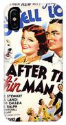 After The Thin Man 1935 IPhone Case