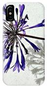 Agapanthus IPhone Case