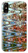 Agate Beach Tree Abstract IPhone Case