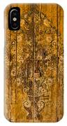 Aging Decorative Door IPhone Case