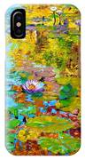 Aglow With Fall IPhone Case