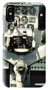 Aircraft Airplane Control Panel IPhone Case