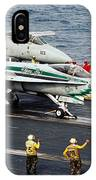 Aircraft Planes F18 Cat IPhone Case