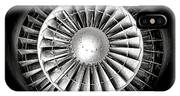 Aircraft Turbofan Engine IPhone X Case