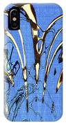 Airplane And Crane Abstract IPhone Case