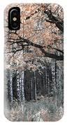 Airy Autumn In Woods IPhone Case