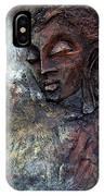 Ajanta Buddha 2 IPhone Case