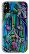 Akita Abstract Dog IPhone Case