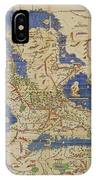 Al-idrisi's World Map, 1154 IPhone Case