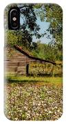 Alabama Cotton Field IPhone Case