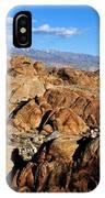 Alabama Hills Landscape IPhone Case