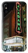 Alabama Theater IPhone Case
