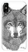 Alaskan Husky IPhone Case