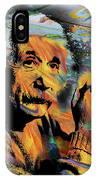 Albert Einstein - By Prar IPhone Case