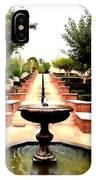 Alcazaba Fountain IPhone Case
