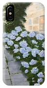 Courtyard At Condes De Albarie IPhone Case