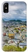 Alesund Norway Cityscape IPhone Case