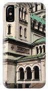 Alexander Nevsky Cathedral IPhone Case
