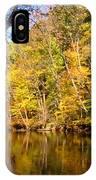 Alexandria Creek In The Fall IPhone Case
