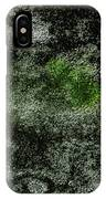 Algae Underneath Frozen Water IPhone Case