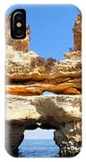 Algarve Rock Tunnel IPhone Case