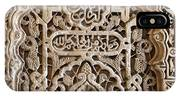 Alhambra Wall Panel IPhone X Case