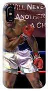 Ali - More Than A Champion IPhone Case