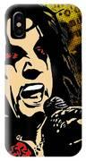 Alice Cooper Illustrated IPhone Case