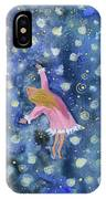 Alice Flying Inthe Night Sky IPhone Case