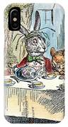 Alices Mad-tea Party, 1865 IPhone Case