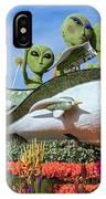 Aliens Spaceship 3 IPhone Case