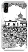 Alki Point Lighthouse Seattle IPhone Case