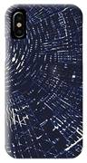 All Around In Blue And Black IPhone Case