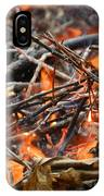 All Fired Up IPhone Case