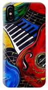 All Jazzed IPhone Case