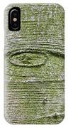 All-seeing Eye Of God On A Tree Bark IPhone Case