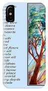 All That I Need - Poetry In Art IPhone Case