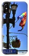 Allen Pride IPhone Case
