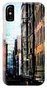 Alley Abstract #2 IPhone Case