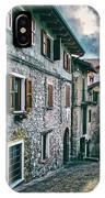 Alley In An Alpine Village #1 IPhone Case