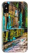 Alley In Uptown Chicago Dsc2687 IPhone Case