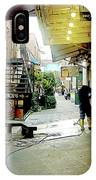 Alley Market End Of Day IPhone Case