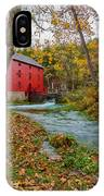 Alley Mill In Autumn IPhone Case