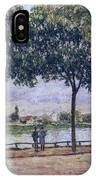 Alley Of Chestnut Trees IPhone Case